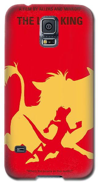 Meerkat Galaxy S5 Case - No512 My The Lion King Minimal Movie Poster by Chungkong Art