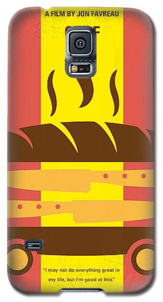 No524 My Chef Minimal Movie Poster Galaxy S5 Case by Chungkong Art