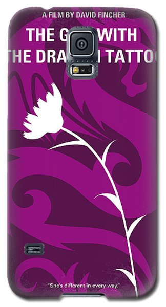 Dragon Galaxy S5 Case - No528 My The Girl With The Dragon Tattoo Minimal Movie Poster by Chungkong Art