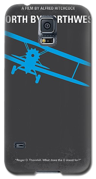 No535 My North By Northwest Minimal Movie Poster Galaxy S5 Case by Chungkong Art