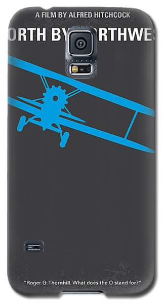 No535 My North By Northwest Minimal Movie Poster Galaxy S5 Case