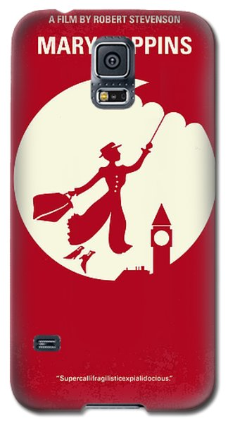 No539 My Mary Poppins Minimal Movie Poster Galaxy S5 Case by Chungkong Art