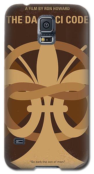 No548 My Da Vinci Code Minimal Movie Poster Galaxy S5 Case