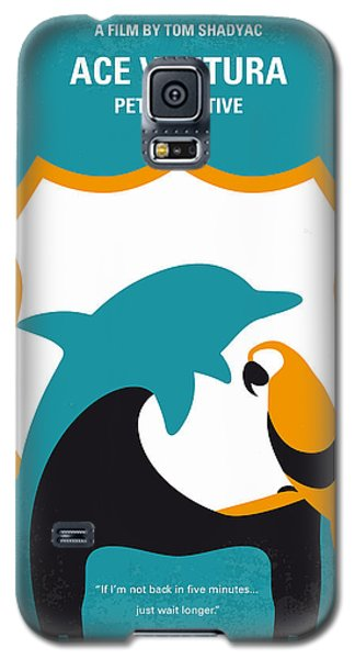 No558 My Ace Ventura Minimal Movie Poster Galaxy S5 Case by Chungkong Art