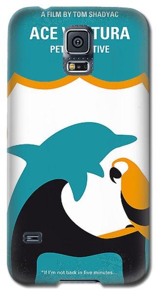 No558 My Ace Ventura Minimal Movie Poster Galaxy S5 Case by Chungkong Art