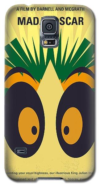 No589 My Madagascar Minimal Movie Poster Galaxy S5 Case