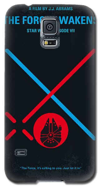 Star Wars Galaxy S5 Case - No591 My Star Wars Episode Vii The Force Awakens Minimal Movie Poster by Chungkong Art