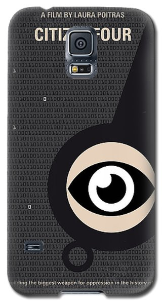No598 My Citizenfour Minimal Movie Poster Galaxy S5 Case by Chungkong Art