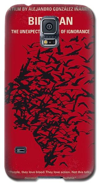 Superhero Galaxy S5 Case - No604 My Birdman Minimal Movie Poster by Chungkong Art