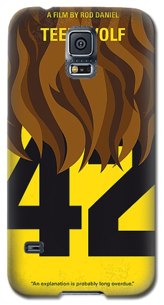 School Galaxy S5 Case - No607 My Teen Wolf Minimal Movie Poster by Chungkong Art