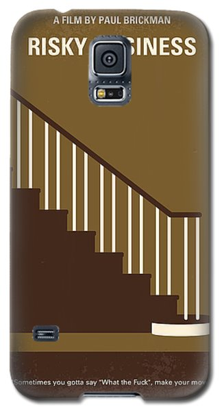 No615 My Risky Business Minimal Movie Poster Galaxy S5 Case by Chungkong Art