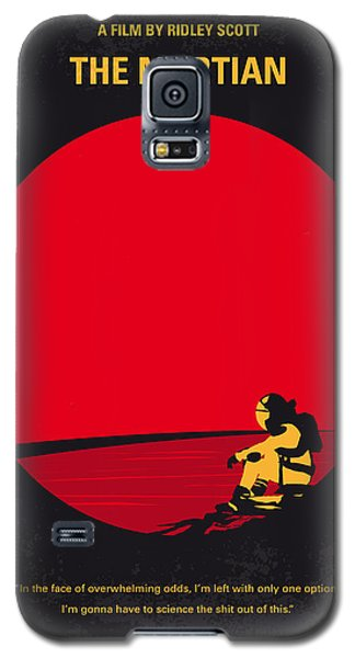 No620 My The Martian Minimal Movie Poster Galaxy S5 Case by Chungkong Art