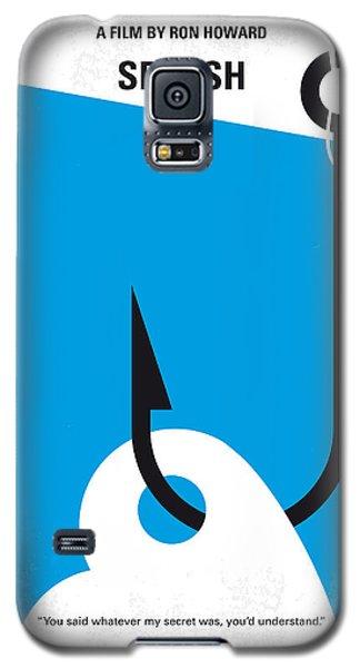 Mermaid Galaxy S5 Case - No625 My Splash Minimal Movie Poster by Chungkong Art
