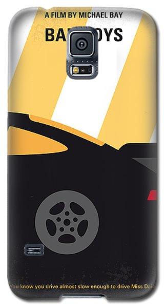 No627 My Bad Boys Minimal Movie Poster Galaxy S5 Case by Chungkong Art