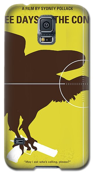 No659 My Three Days Of The Condor Minimal Movie Poster Galaxy S5 Case