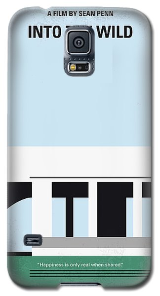 No677 My Into The Wild Minimal Movie Poster Galaxy S5 Case by Chungkong Art