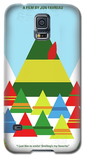 Elf Galaxy S5 Case - No699 My Elf Minimal Movie Poster by Chungkong Art