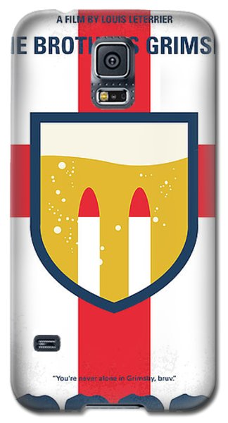 Galaxy S5 Case featuring the digital art No741 My Grimsby Minimal Movie Poster by Chungkong Art