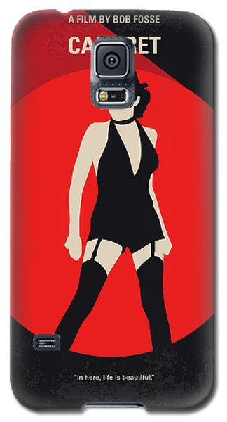 Galaxy S5 Case featuring the digital art No742 My Cabaret Minimal Movie Poster by Chungkong Art