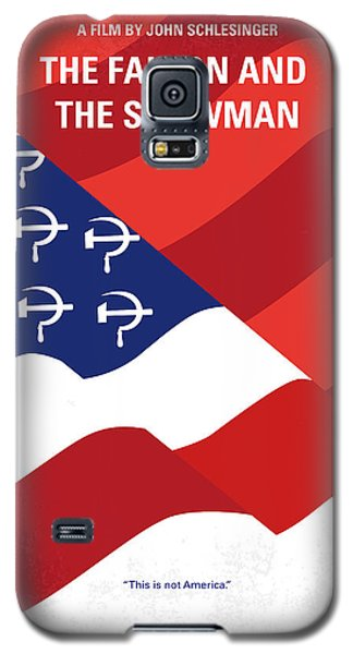 Galaxy S5 Case featuring the digital art No749 My The Falcon And The Snowman Minimal Movie Poster by Chungkong Art