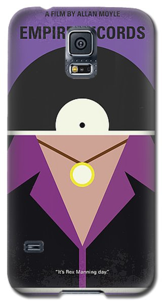 Galaxy S5 Case featuring the digital art No750 My Empire Records Minimal Movie Poster by Chungkong Art