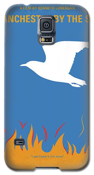 Galaxy S5 Case featuring the digital art No753 My Manchester By The Sea Minimal Movie Poster by Chungkong Art