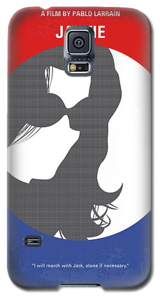 Galaxy S5 Case featuring the digital art No755 My Jackie Minimal Movie Poster by Chungkong Art