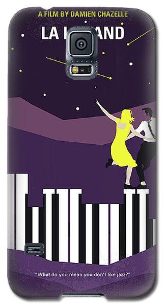 Galaxy S5 Case featuring the digital art No756 My La La Land Minimal Movie Poster by Chungkong Art