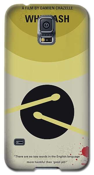 Galaxy S5 Case featuring the digital art No761 My Whiplash Minimal Movie Poster by Chungkong Art