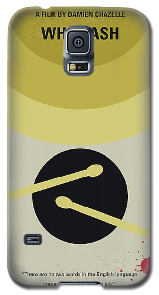 Drum Galaxy S5 Case - No761 My Whiplash Minimal Movie Poster by Chungkong Art