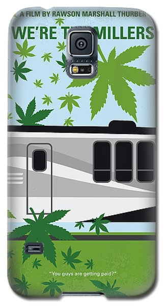 Galaxy S5 Case featuring the digital art No763 My We Are The Millers Minimal Movie Poster by Chungkong Art