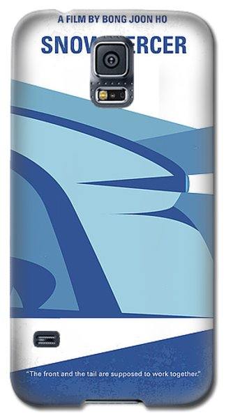 Galaxy S5 Case featuring the digital art No767 My Snowpiercer Minimal Movie Poster by Chungkong Art