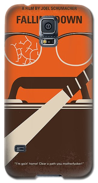 Galaxy S5 Case featuring the digital art No768 My Falling Down Minimal Movie Poster by Chungkong Art