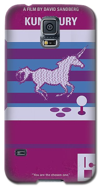 No770 My Kung Fury Minimal Movie Poster Galaxy S5 Case