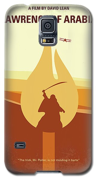 Galaxy S5 Case featuring the digital art No772 My Lawrence Of Arabia Minimal Movie Poster by Chungkong Art