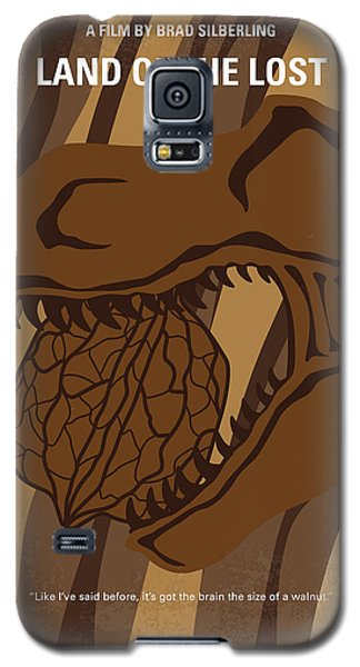 Galaxy S5 Case featuring the digital art No773 My Land Of The Lost Minimal Movie Poster by Chungkong Art