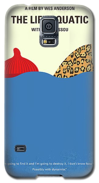 Galaxy S5 Case featuring the digital art No774 My The Life Aquatic With Steve Zissou Minimal Movie Poster by Chungkong Art