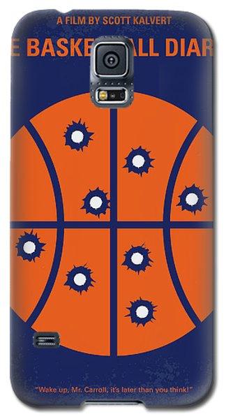 Basketball Galaxy S5 Case - No782 My The Basketball Diaries Minimal Movie Poster by Chungkong Art