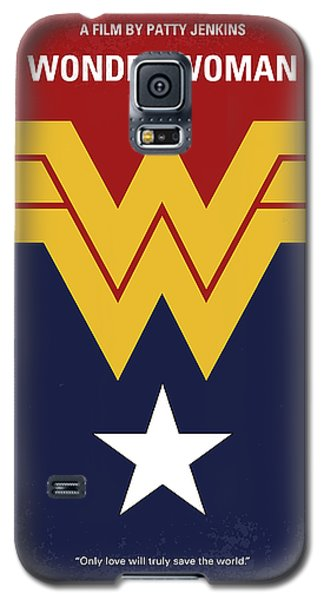Superhero Galaxy S5 Case - No825 My Wonder Woman Minimal Movie Poster by Chungkong Art