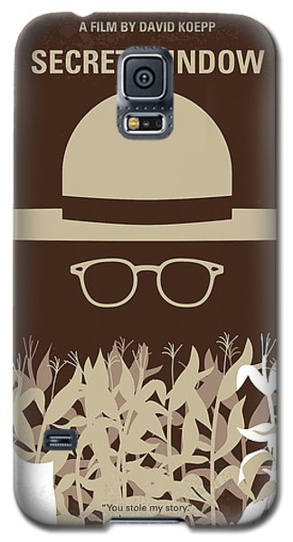 Johnny Depp Galaxy S5 Case - No830 My Secret Window Minimal Movie Poster by Chungkong Art