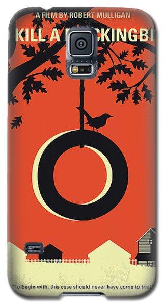 Mockingbird Galaxy S5 Case - No844 My To Kill A Mockingbird Minimal Movie Poster by Chungkong Art