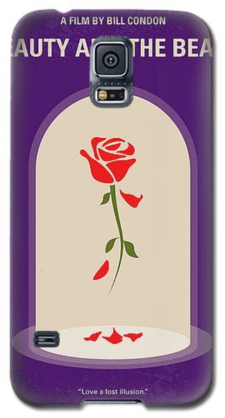 Fairy Galaxy S5 Case - No878 My Beauty And The Beast Minimal Movie Poster by Chungkong Art
