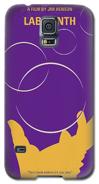 Knight Galaxy S5 Case - No928 My Labyrinth Minimal Movie Poster by Chungkong Art
