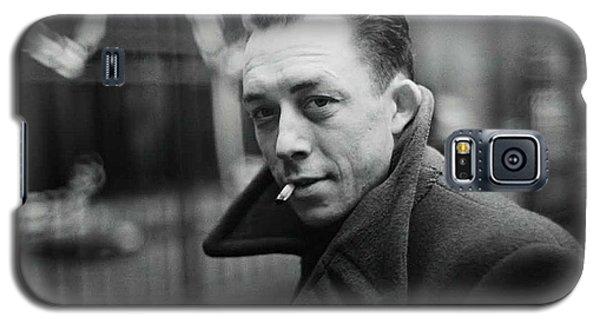 Nobel Prize Winning Writer Albert Camus  Unknown Date-2015           Galaxy S5 Case