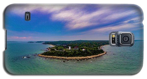 Nobska Lighthouse Panorama Galaxy S5 Case