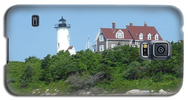 Nobska Point Lighthouse Galaxy S5 Case by Donna Walsh