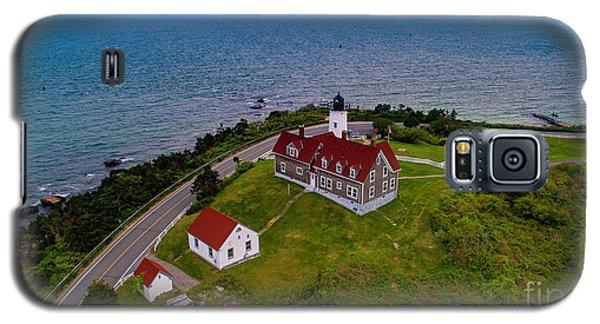Nobska Point Lighthouse Galaxy S5 Case