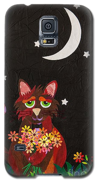Galaxy S5 Case featuring the mixed media Nocturnal Romantic by Diane Miller