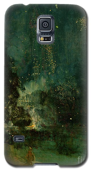 The Sky Galaxy S5 Case - Nocturne In Black And Gold - The Falling Rocket by James Abbott McNeill Whistler