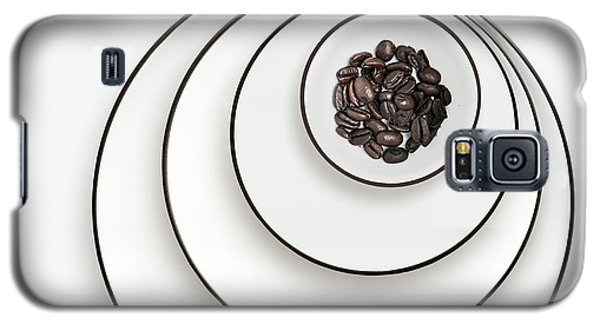 Galaxy S5 Case featuring the photograph Nonconcentric Dishware And Coffee by Joe Bonita